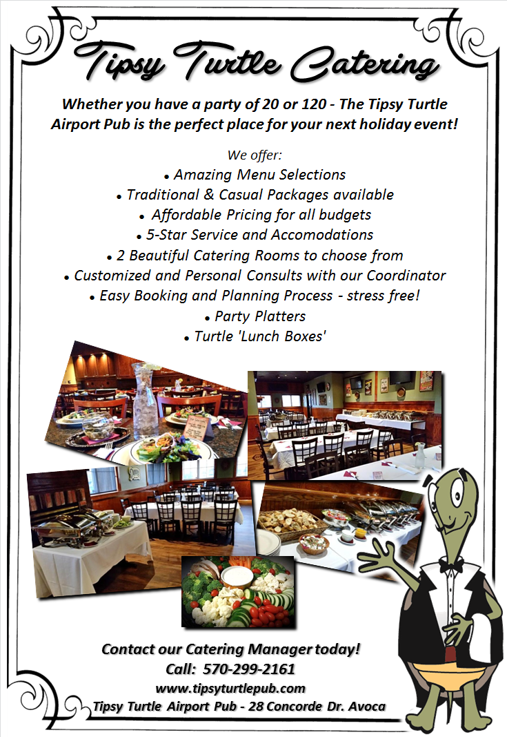 Catering Flyer - holiday